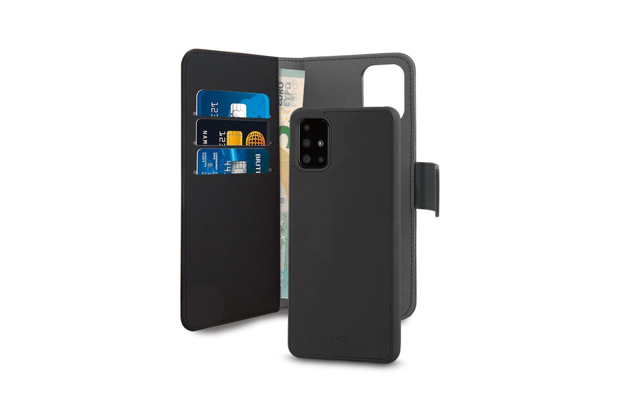 2in1 case PURO Wallet Detachable Samsung Galaxy A41
