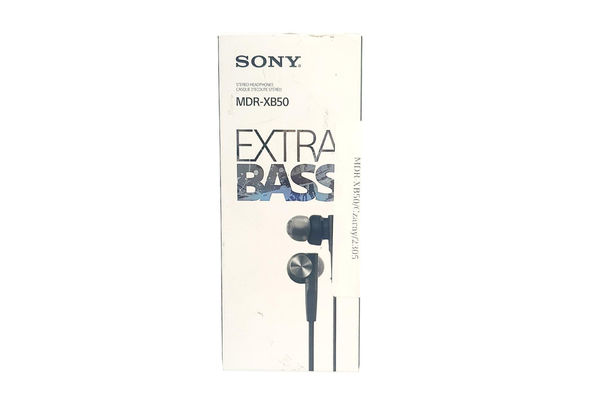 In-Ear Headphones  Sony MDR-XB50 Black