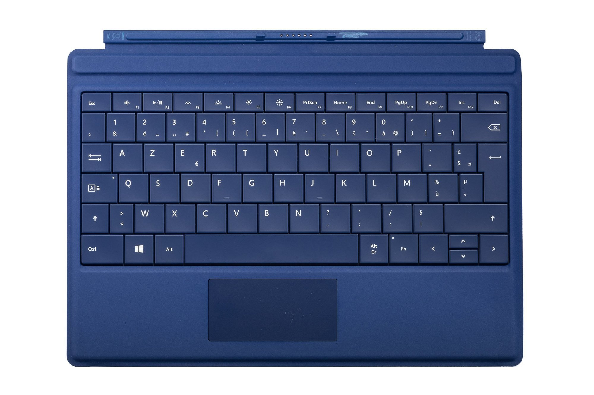 Keyboard Microsoft Surface Type Cover 3 Dark blue AZERTY (French) Grade B