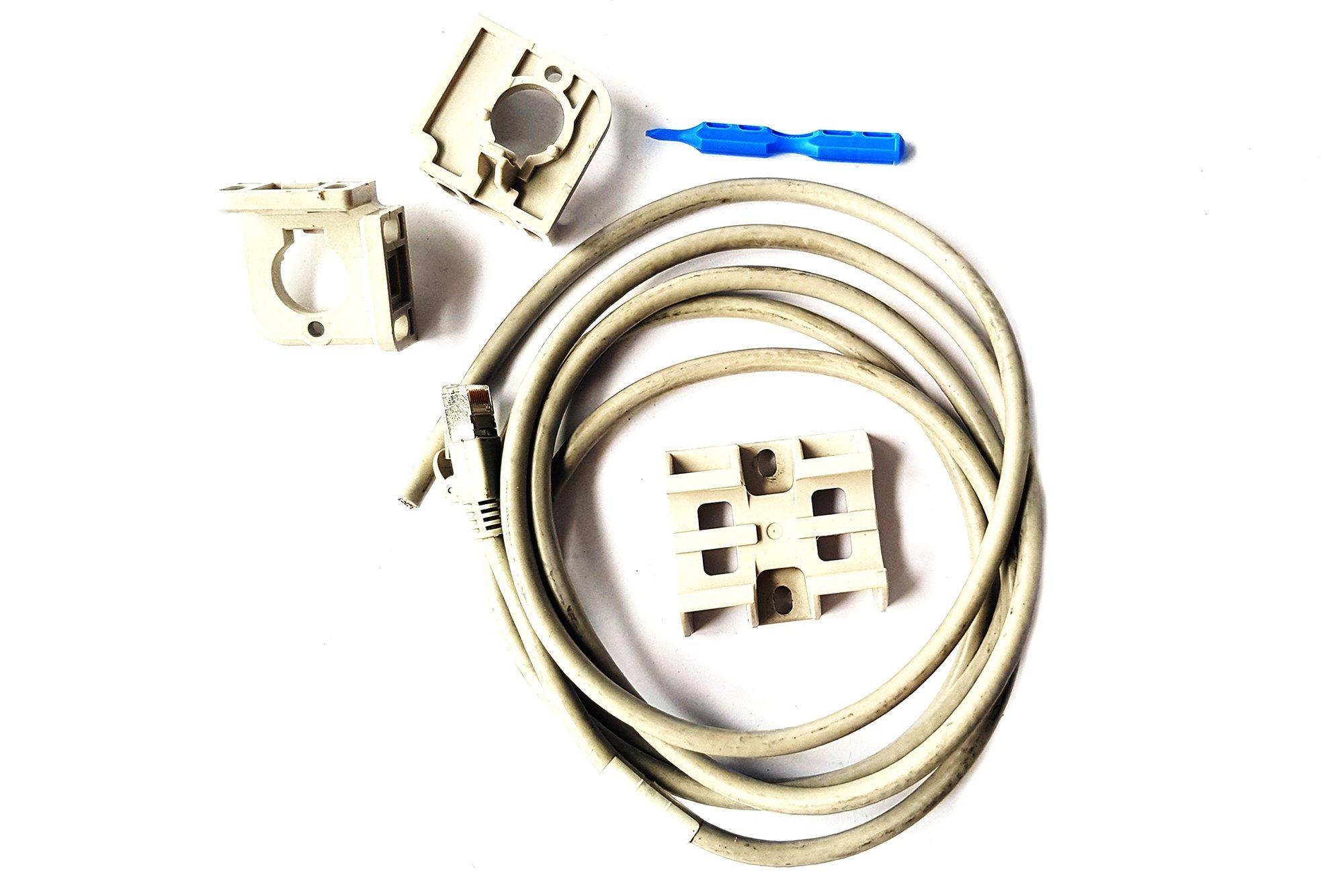 Keyence 10-pin I/O Power Cable 2 m SJ-C2U