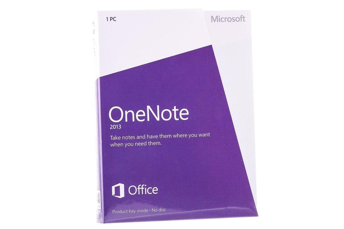 Microsoft OneNote 2013 S26-05028 English