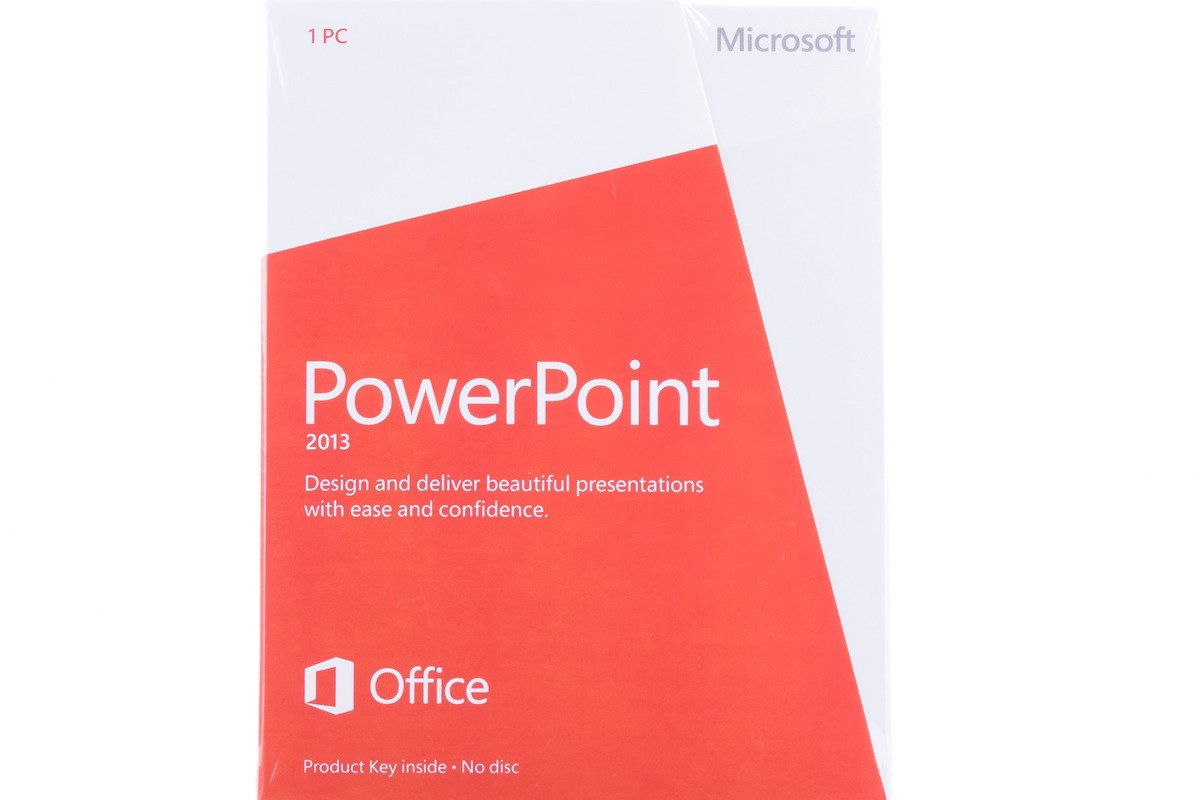 New Microsoft PowerPoint 2013 079-05835 English Medialess Eurozone