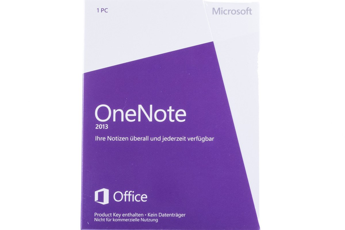 New Sealed Microsoft OneNote 2013 S26-05131 Medialess Non-commercial Eurozone