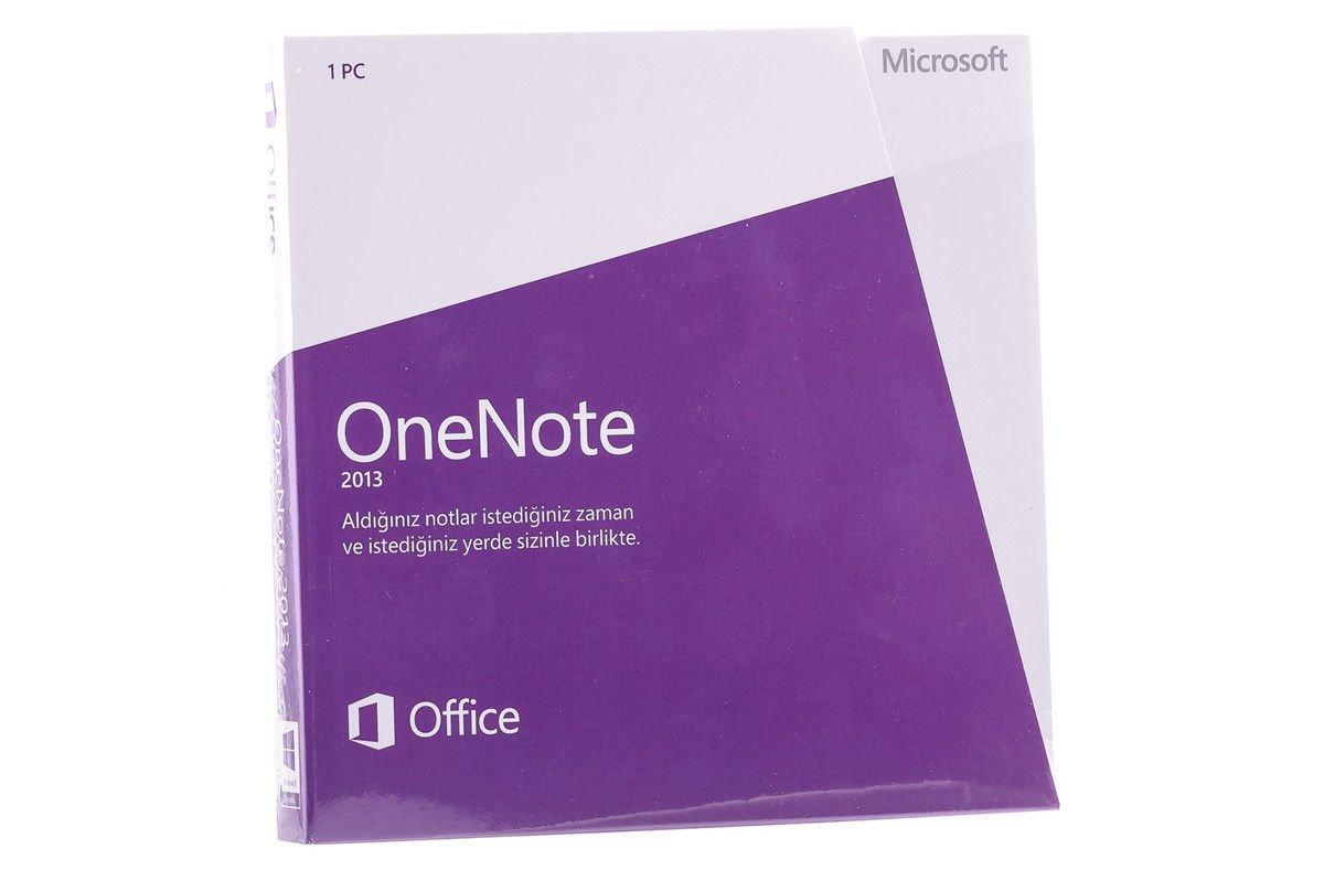 New Sealed Original Microsoft OneNote 2013 Turkish S26-05115 DVD Eurozone