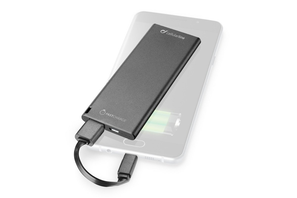 Powerbank Cellular line FreePower Slim 3000 Black