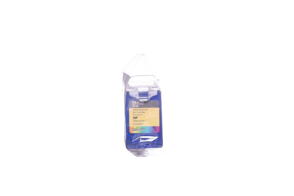 Remanufactured Ink cartridge Tesco HP H100 Colour