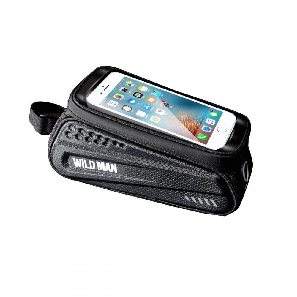 WildMan Hardpouch Bag bicycle holder L Bike Phone waterproof headphones pannier