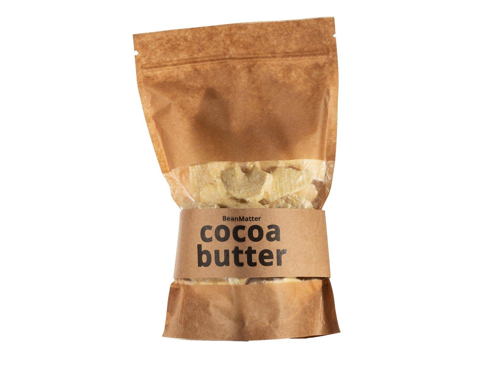 Cocoa Butter - 500g - Natural Unrefined Cacao Butter Ecuador Food Grade