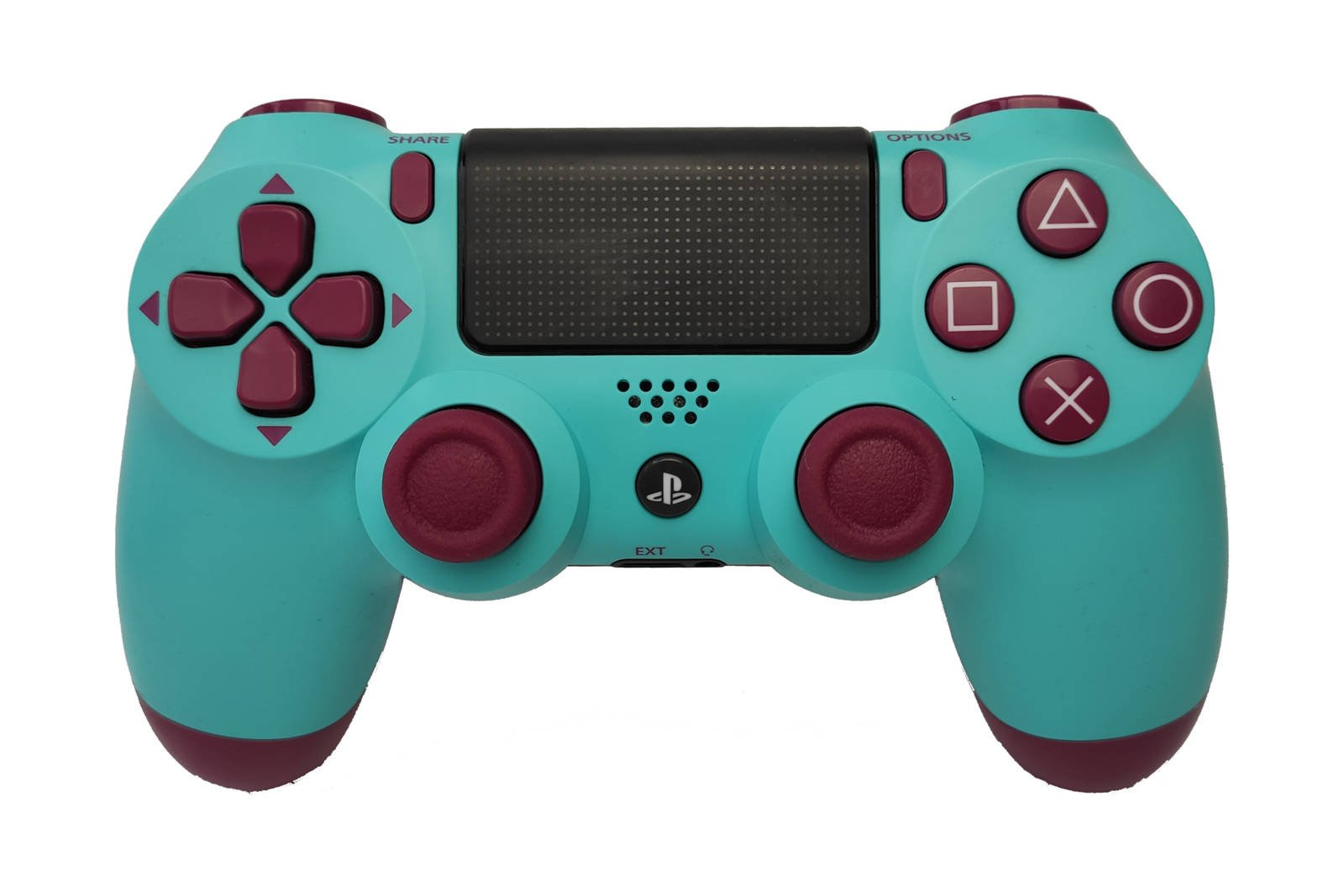 Controller Gamepad Playstation 4 PS4 v2 Berry Blue