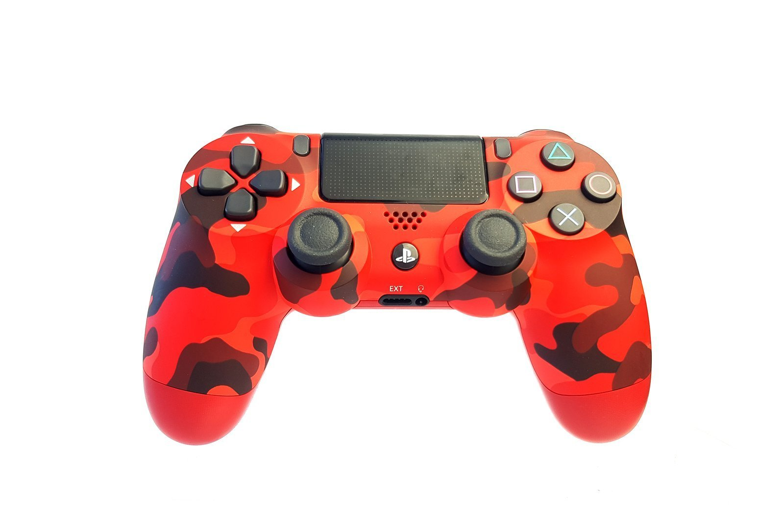 Controller Gamepad Playstation 4 PS4 v2 Red Camouflage