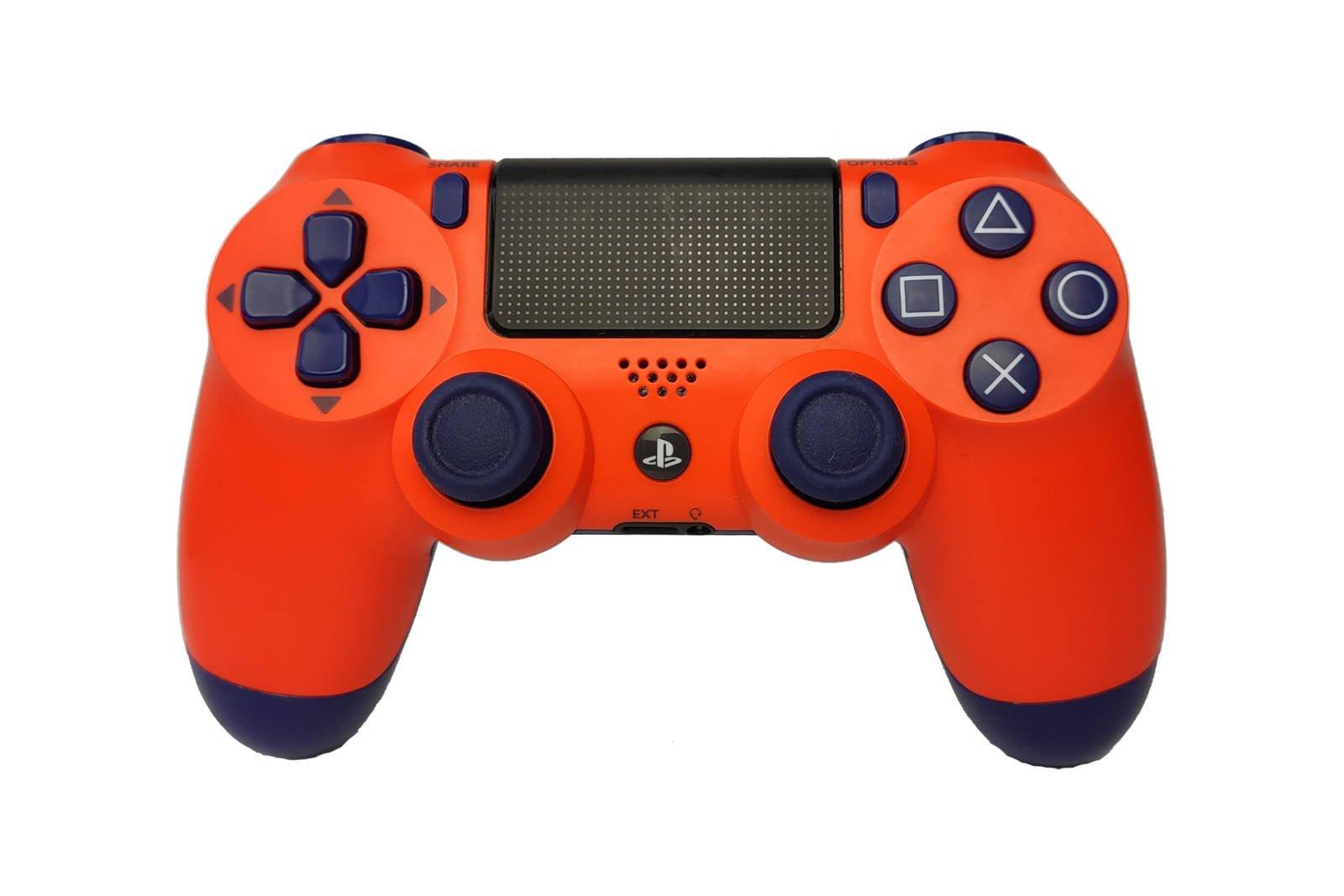 Controller Gamepad Playstation 4 PS4 v2 Sunset Orange