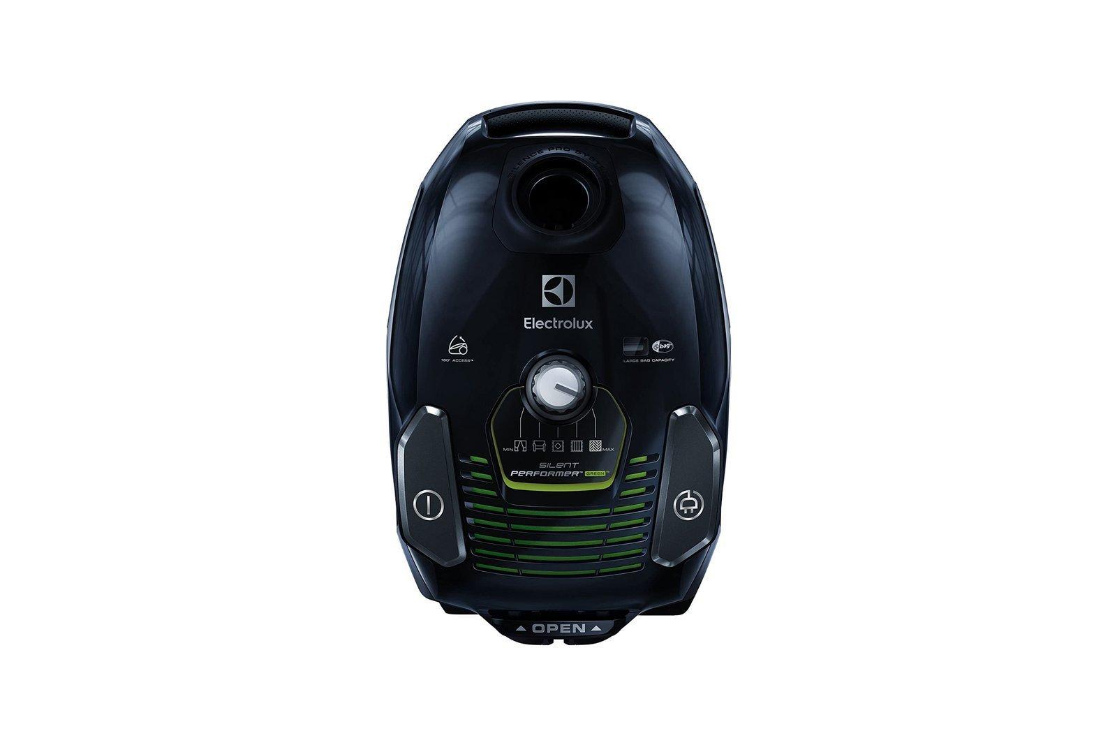 Electrolux SilentPerformer Bagged Vacuum Cleaner ESP74GREEN Recycled Black