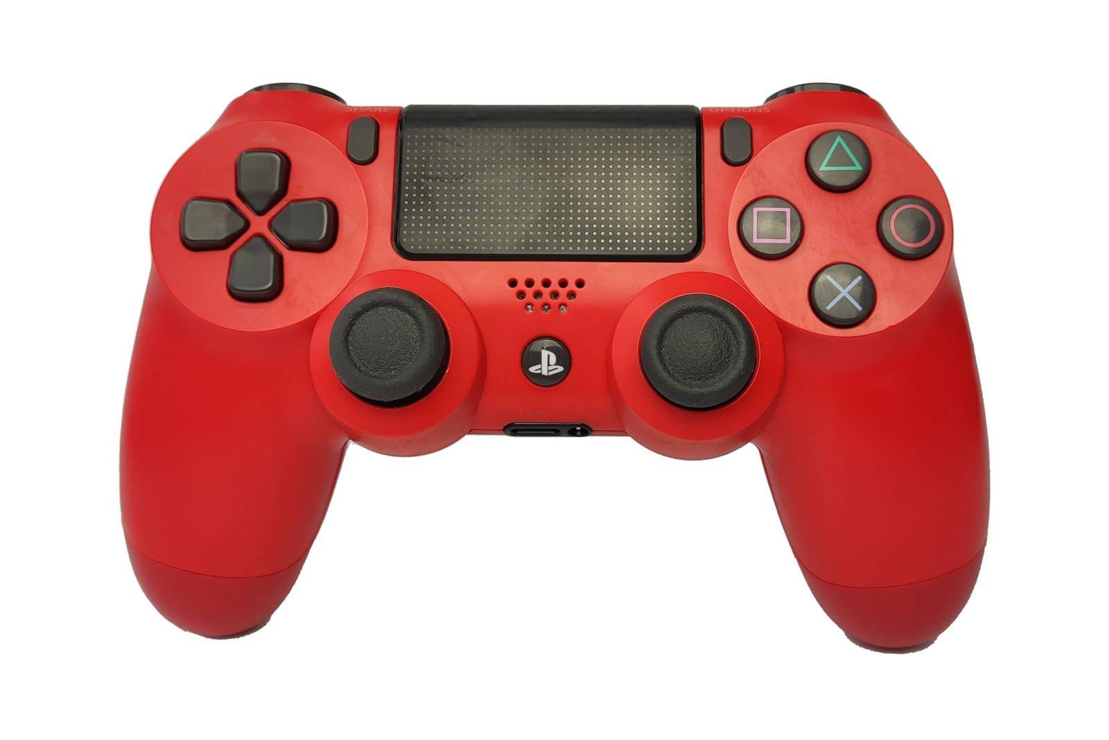 Gamepad Controller Playstation 4 PS4 v2 Magma Red