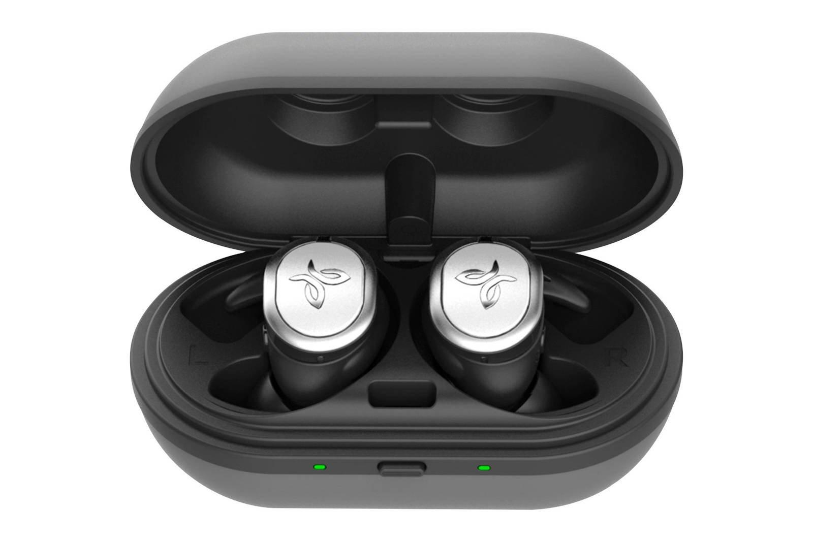 Jaybird Run True Wireless Sport Headphones Silver