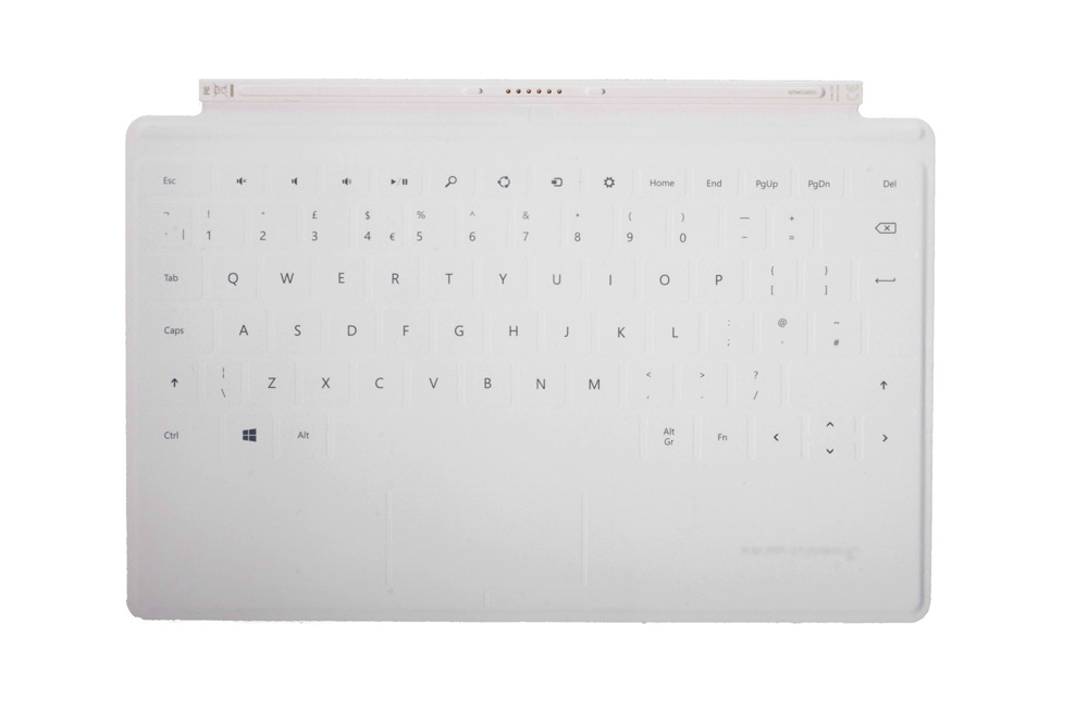 Keyboard Surface Touch Cover 1 White Grade A (British)