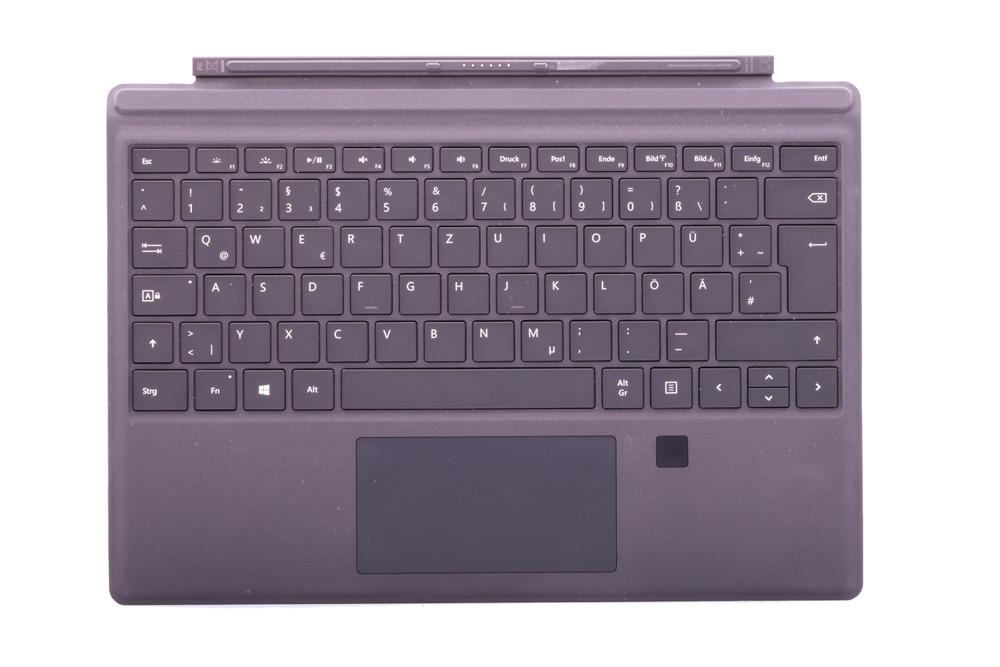 Keyboard Surface Type Cover Pro 4 Finger ID Black Grade B (German)