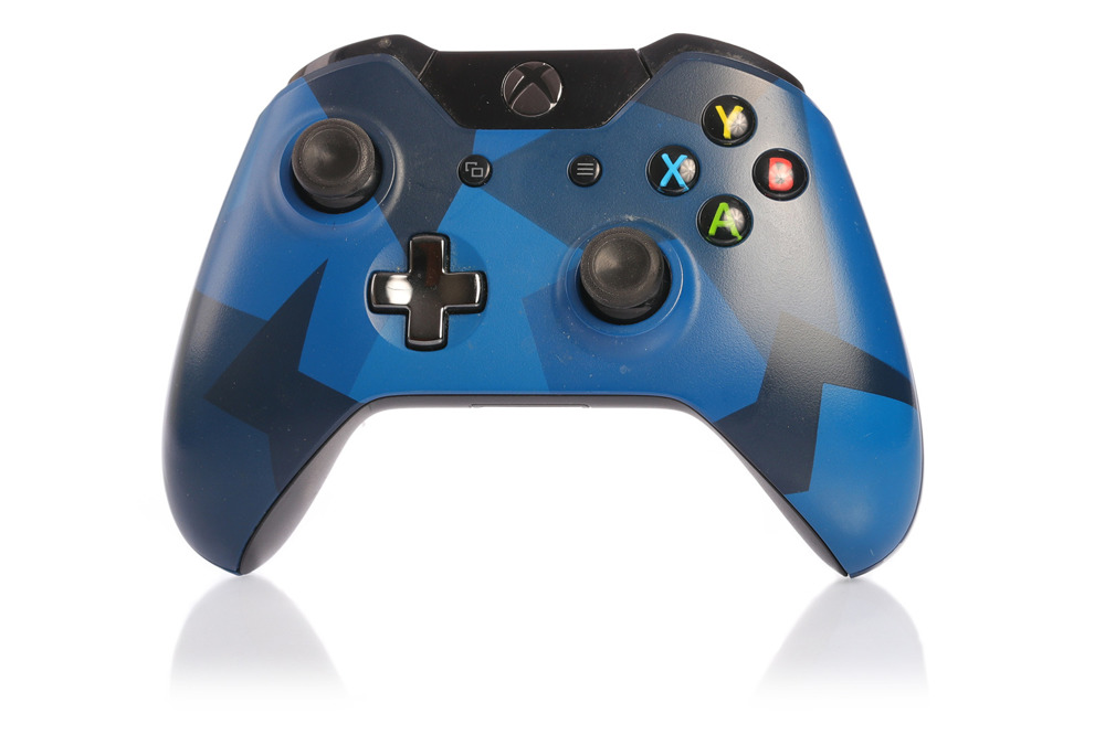 Microsoft Controller Pad Xbox One Midnight Forces Limited Edition