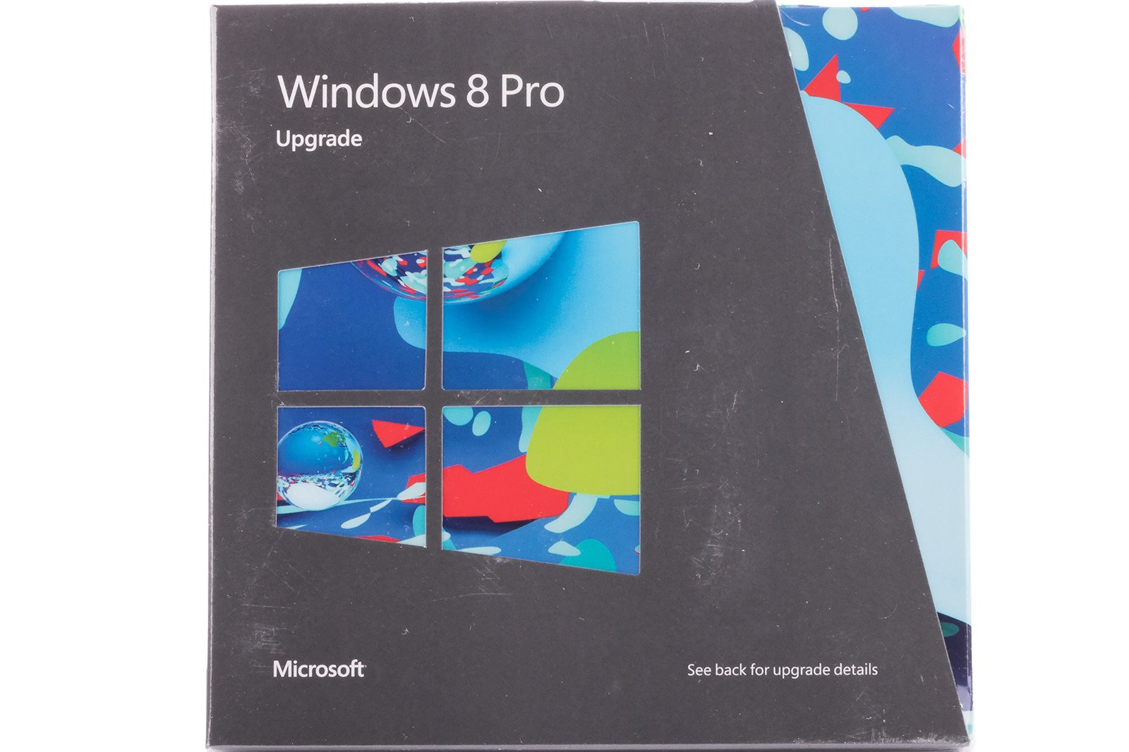 New Windows Professional 8 Upgrade for PC 3UR-00007 DVD 32/64bit Non EU/EFTA BOX