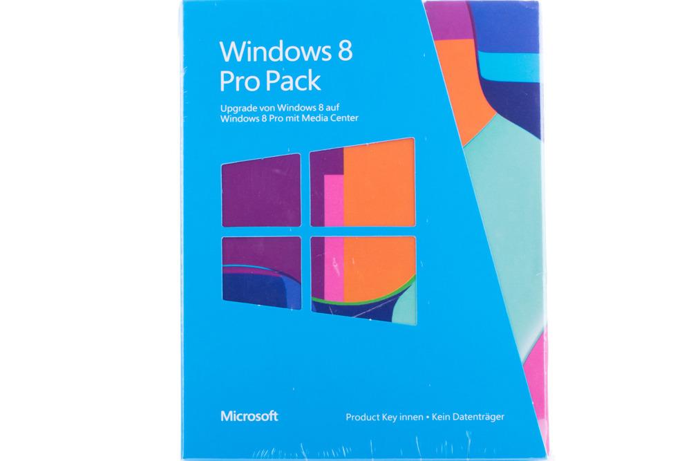 New Windows Professional 8 Upgrade for PC 5VR-00019 KEY 32/64 bit Eurozone BOX