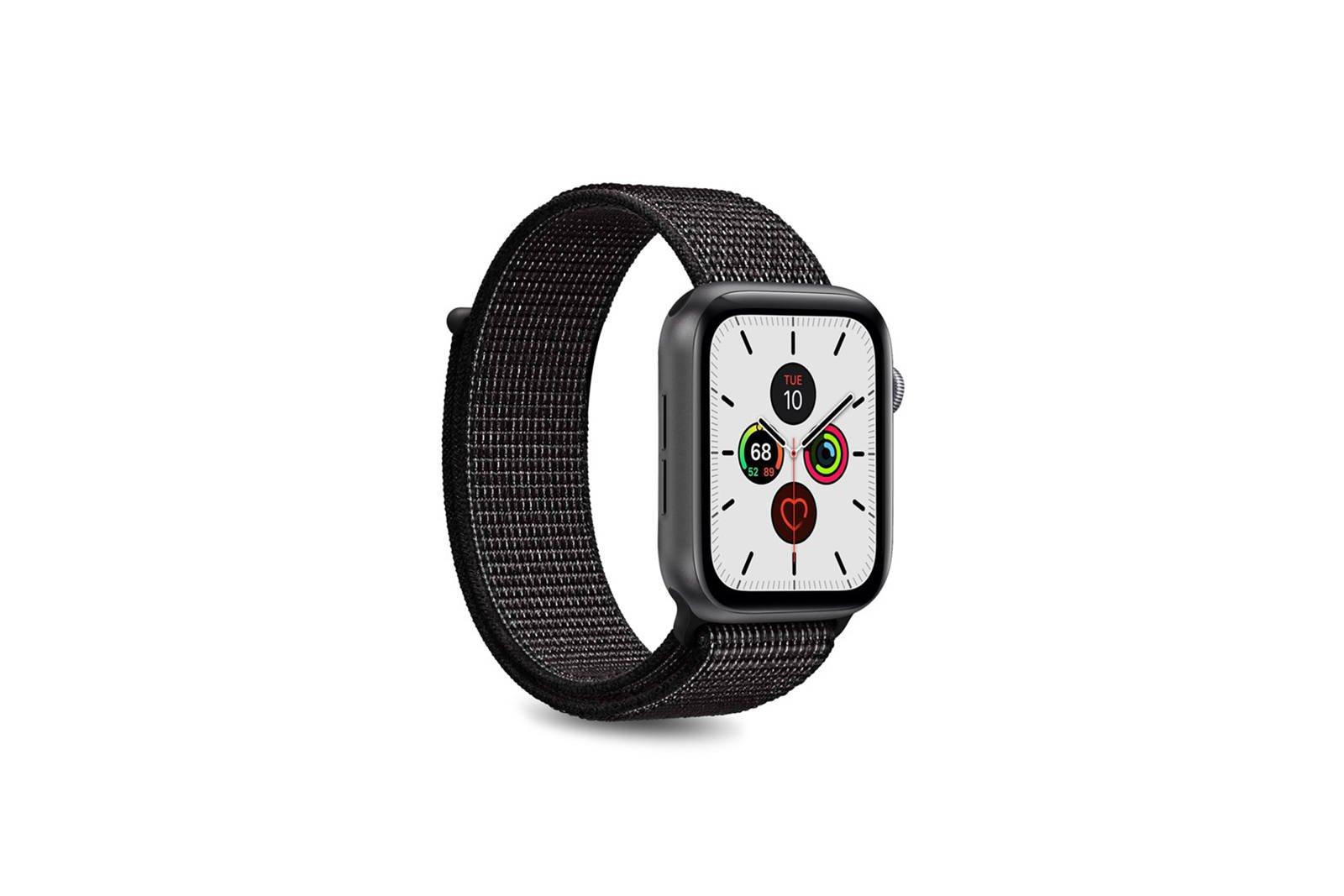Puro Nylon Strap for Apple Watch 42/44mm Black
