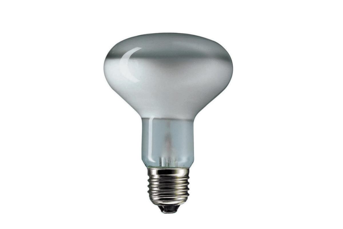 Reflector bulb Philips 60W E27 240V E80 80D FR
