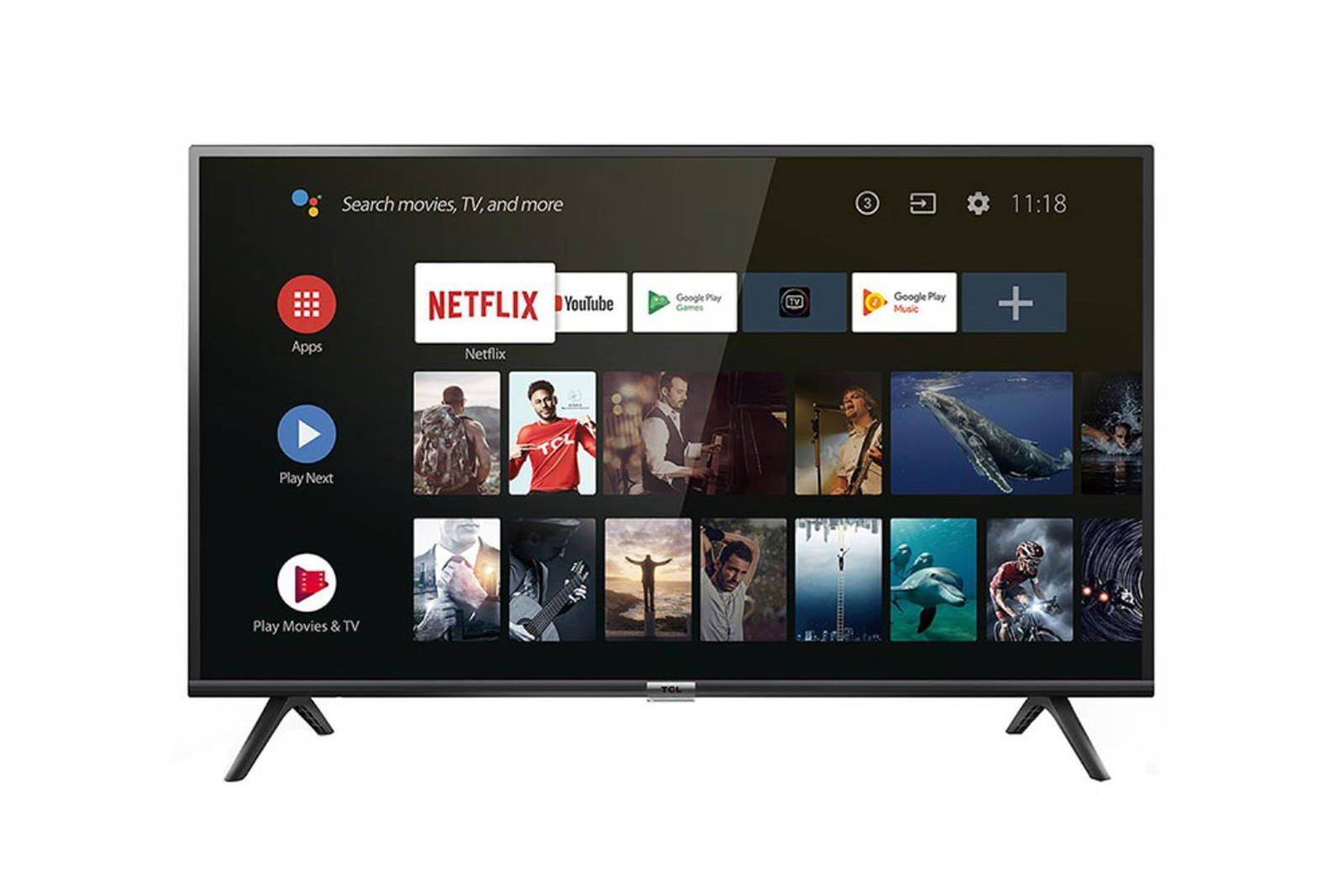 TV TCL 40' 40ES565 Android FHD LED HDR