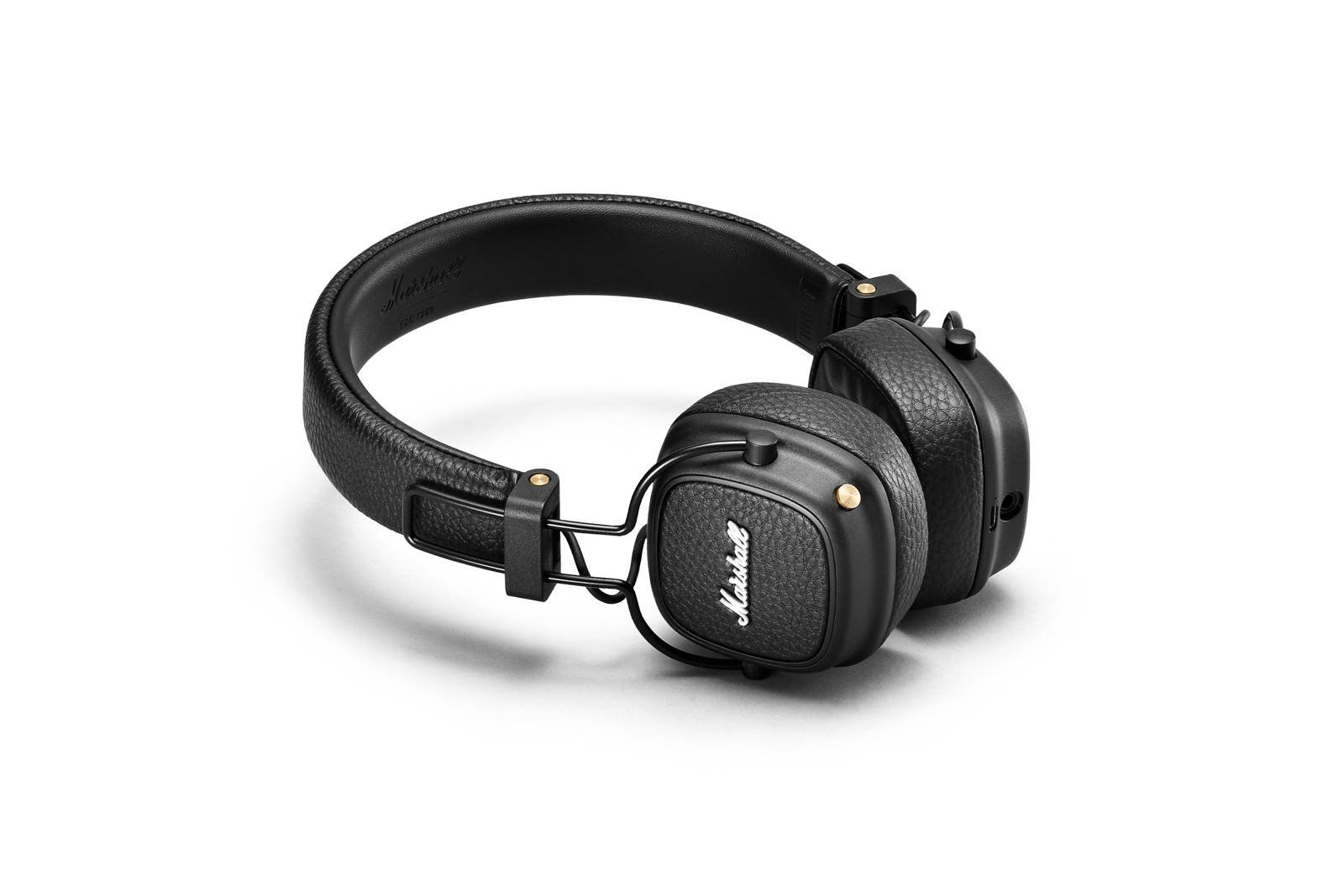 Wireless headphones Marshall Major III Bluetooth Black